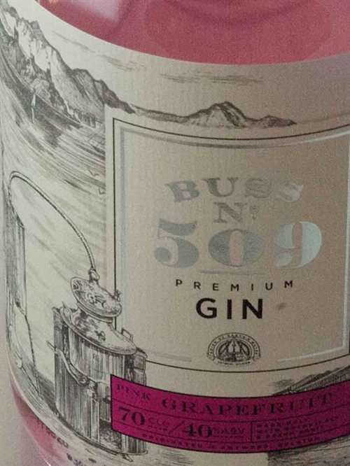 Buss No 509 Pink Grape Gin / Belgien