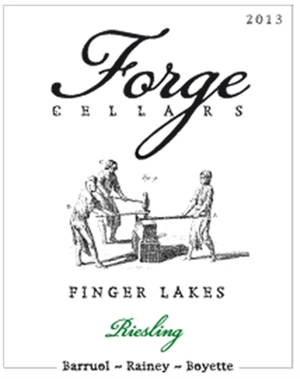 Forge Cellars / Riesling Finger Lakes N.Y. State 2015