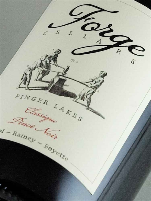 Forge Cellars / Pinot Noir Finger Lakes N.Y. State 2017