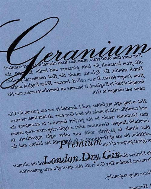 Geranium Dry Gin / London