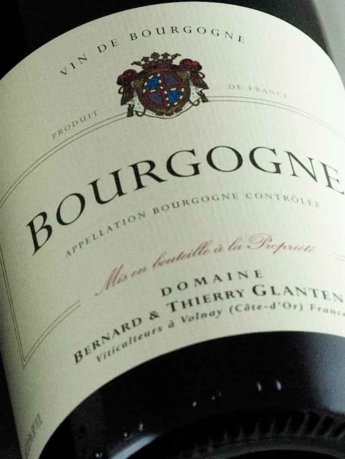 Domaine Thierry Glantenay / Bourgogne Rouge 2017