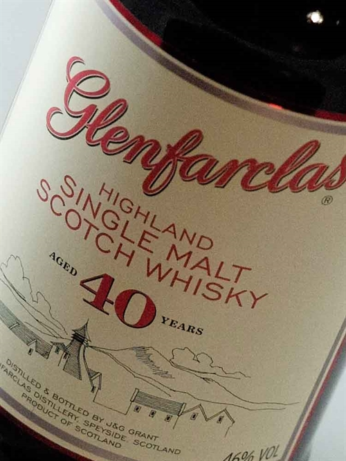 Glenfarclas / Single Malt Highland Speyside 40 år