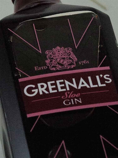 Greenall's Sloe Gin /  London