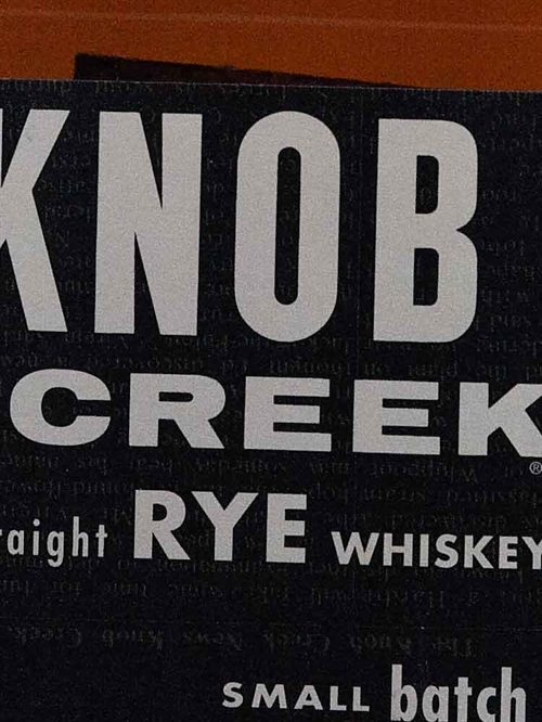 Knob Creek / Rye Small Batch