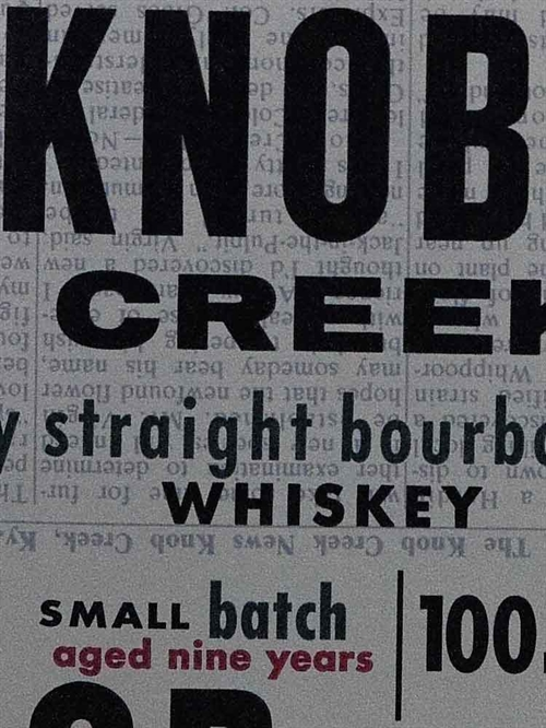 Knob Creek / 9 years Bourbon