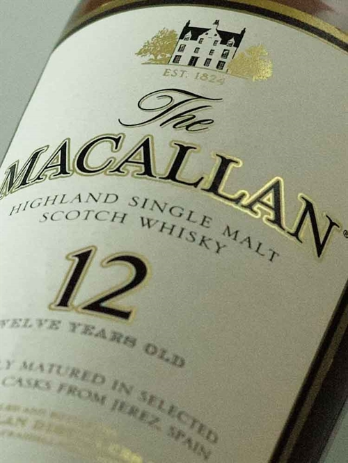 The Macallan / Single Malt Highland Sherry Oak 12 år